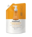 Method Products Foaming Hand Wash Refill, Orange Ginger, 28 oz Pouch, 6/Carton