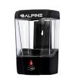 Alpine Automatic Hands-Free Transparent Gel Hand Sanitizer/ Liquid Soap Dispenser, 700 mL, Black